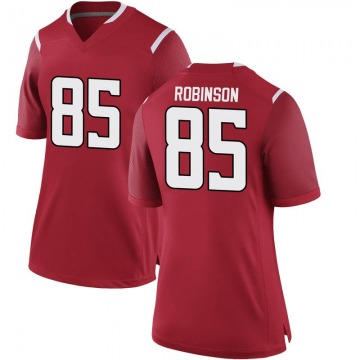 Women's Daevon Robinson Rutgers Scarlet Knights Nike Game Scarlet Football College Jersey